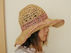 麦わらっぽい帽